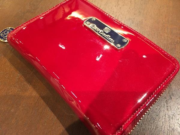 ココマイスターのレディース財布「ココデュラン」フローズンシーバード