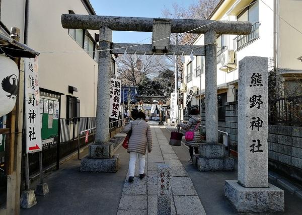 川越熊野神社の銭洗い弁天と白蛇神社の撫で蛇様