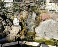 川越熊野神社の銭洗い弁天