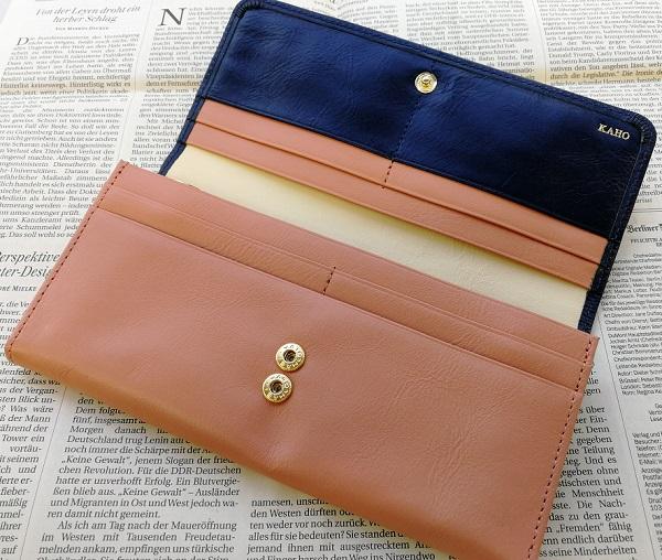 JOGGOのレディースバイカラ―長財布の内装