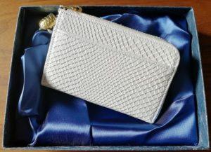 開運財布・白蛇の小銭入れ