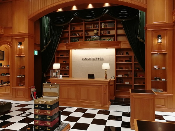 ココマイスター神戸旧居留地店(神戸市中央区 京町25番地 神戸旧居留地25番館 1F)の財布売場の会計