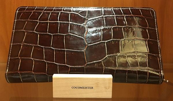 クロコダイル・ジムクラック(ココマイスターの長財布)