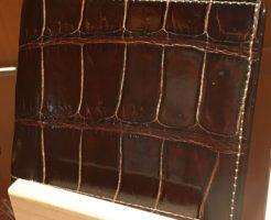 クロコダイル・バトルシップ(ココマイスターの二つ折り財布)