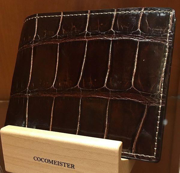 クロコダイル バトルシップ(COCOMEISTERの二つ折り財布)
