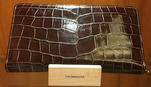 クロコダイル ジムクラック(COCOMEISTERの長財布)