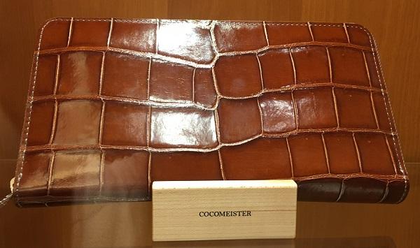 クロコダイル パーシモン(COCOMEISTERの長財布)