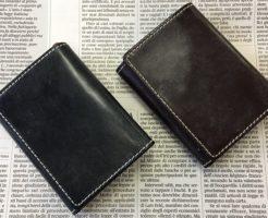 グレンチェック(GLENCHECK)のブライドルレザー胸ポケット財布(三つ折り財布)