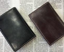 グレンチェック(GLENCHECK)のブライドルレザーカードケース(名刺入れ )