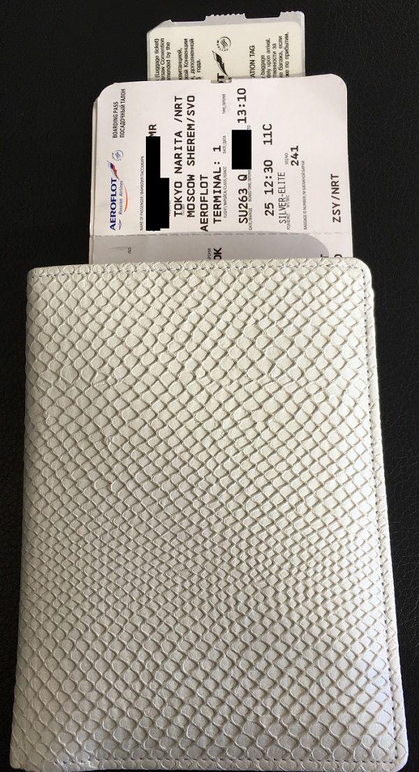 厄除けパスポートケース