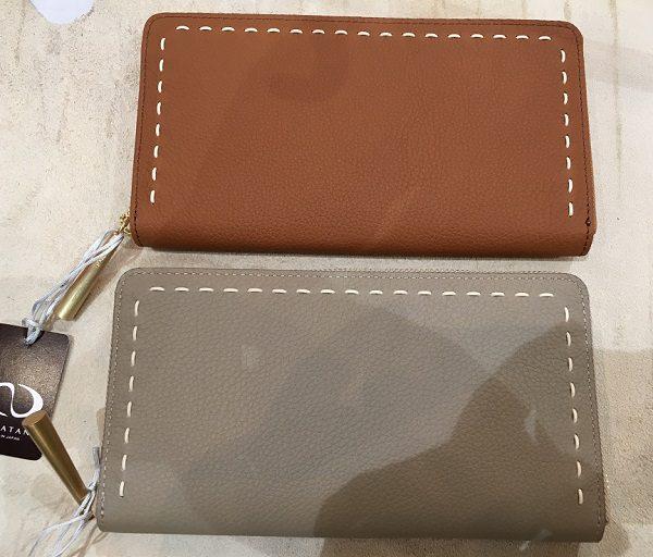 NAGATANI(ナガタニ)の財布SAH0、CAMELとBEIGE