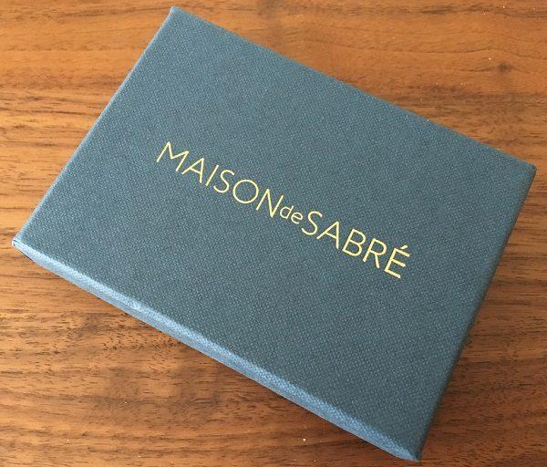 Maison de Sabreのプレゼント用箱