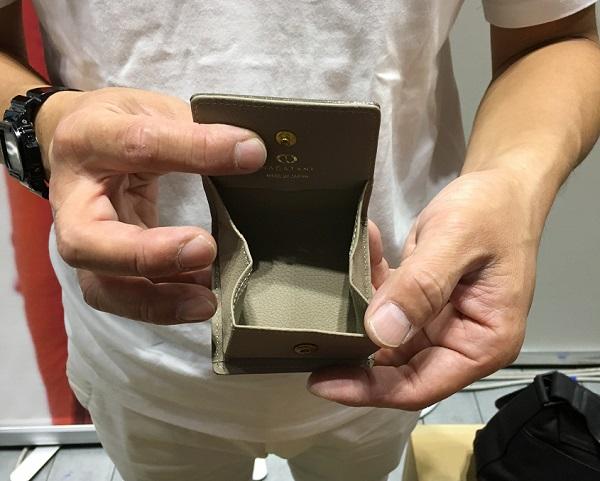 NAGATANI(ナガタニ)のコインケース・Ellaの内装