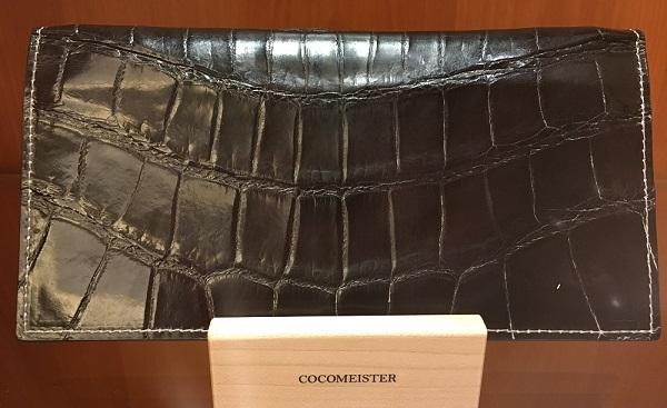 クロコダイルクルセイダー(ココマイスターの長財布)
