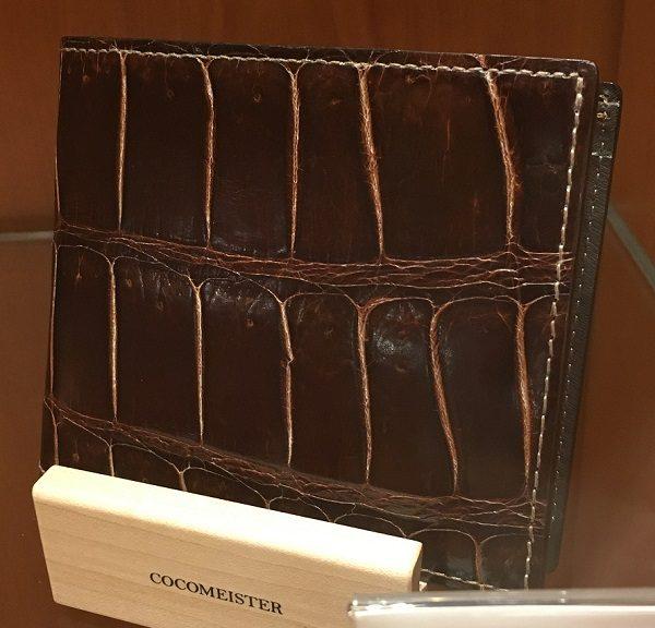 クロコダイルバトルシップ(ココマイスターの二つ折り財布)
