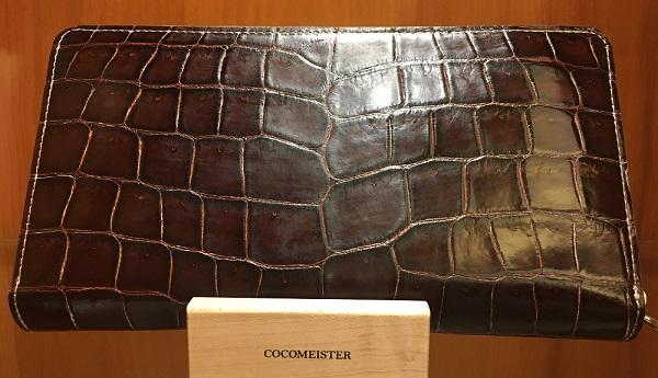 クロコダイルジムクラック(ココマイスターの長財布)