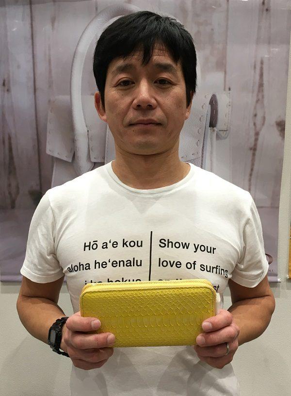 NAGATANIの社長・長谷圭祐氏