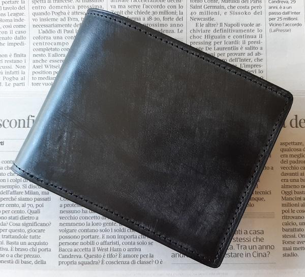 crafsto(クラフスト)のブライドルレザー 二つ折り財布