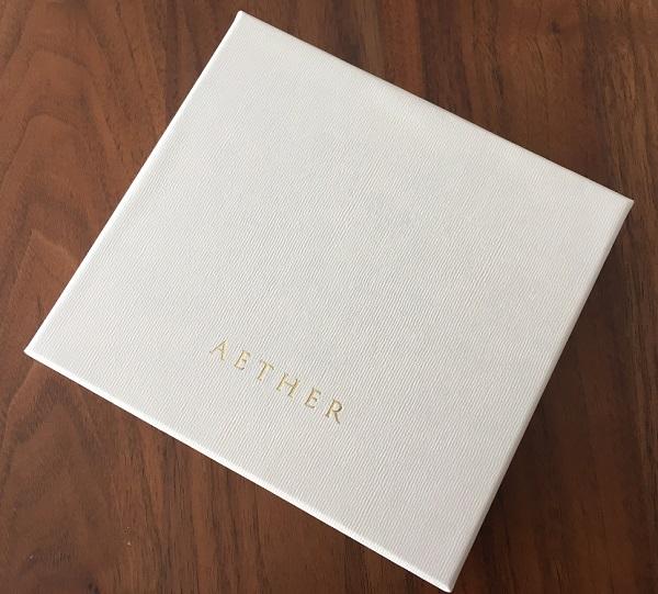 AETHER(エーテル)のキーケースの箱