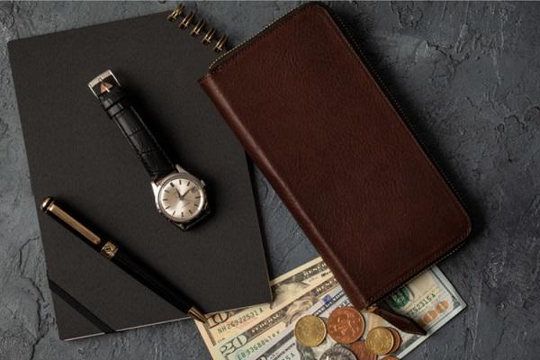 crafsto(クラフスト)でネブラスカレザーを使用した財布