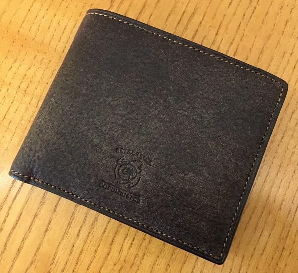 ココマイスターの二つ折り財布、ベテルギウスシリウスパース