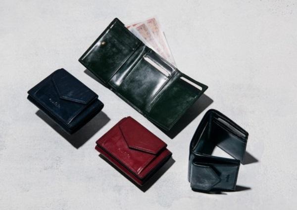 crafsto(クラフスト)の英国製ブライドルレザー三つ折り財布