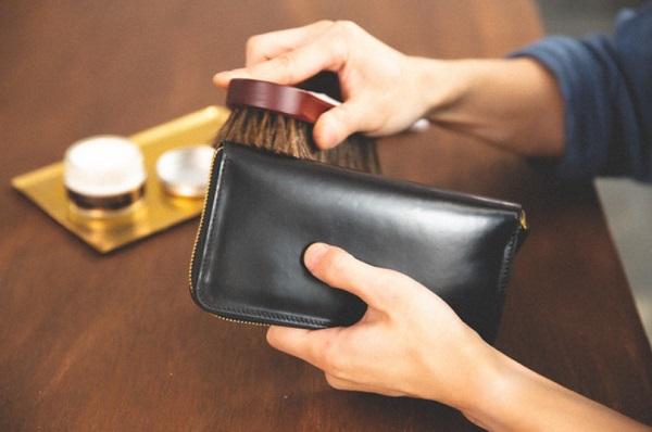crafsto(クラフスト)の財布のメンテナンス